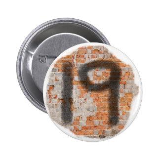 Graffiti 19th Birthday Gifts 6 Cm Round Badge