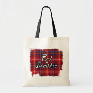 Graffiti Red Lichtie collection Budget Tote Bag