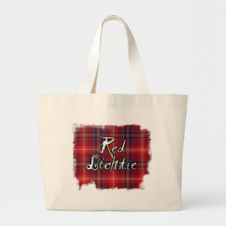 Graffiti Red Lichtie collection Jumbo Tote Bag