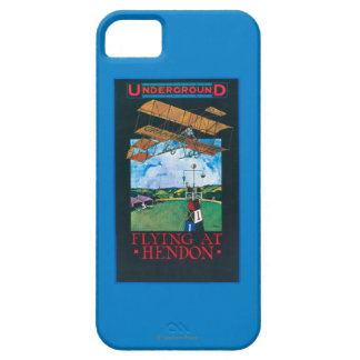 Grahame-White And Plane over Aerodrome Poster Case For The iPhone 5