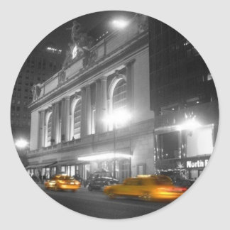 Grand Central Station New York Round Sticker