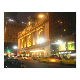 Grand Central Station, NYC 11 Cm X 14 Cm Invitation Card