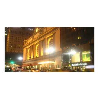 Grand Central Station, NYC Personalized Photo Card