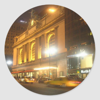 Grand Central Station, NYC Round Sticker
