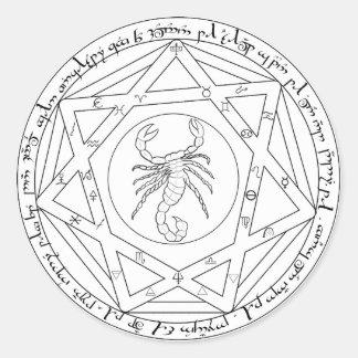Grand Pentacle Round Sticker