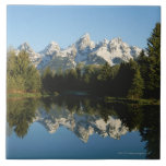 Grand Teton National Park, Teton Range, Wyoming, Large Square Tile