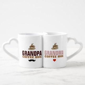 granddad & grandmom idea lovers mug