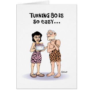 Grandfather 80th Birthday Greeting Card