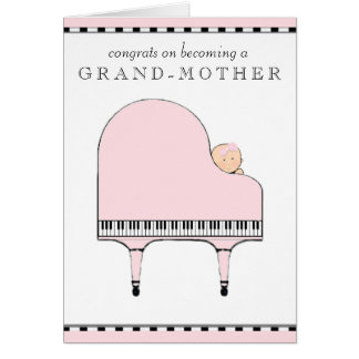 Grandma congrats greeting card
