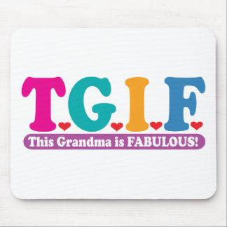 Grandma Fabulous Mouse Pad