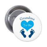 Grandma To-Be 6 Cm Round Badge