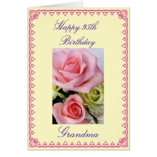 Grandma's 95th Birthday Greeting Card