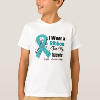 Grandmother - Ovarian Cancer Ribbon T-shirts