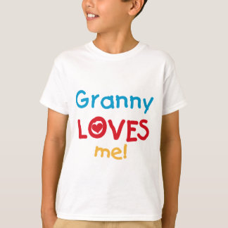 Granny Loves Me Tshirts and Gifts