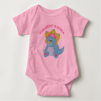 Grannys Girl Dinosaur Tshirt