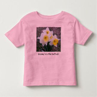 Granny's Little Daffodil... Toddler Shirt
