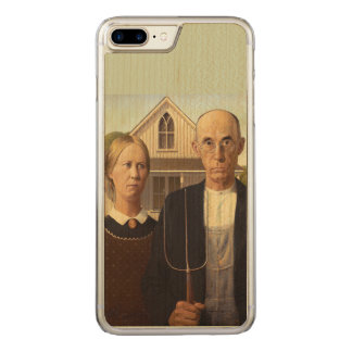 Grant Wood American Gothic Fine Art Painting Carved iPhone 7 Plus Case