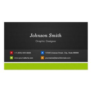 Graphic Designer - Professional and Premium Pack Of Standard Business Cards