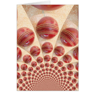 Graphic Vintage Cricket Game of Champions.jpg Greeting Card