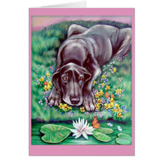 Great Dane Greeting Cards