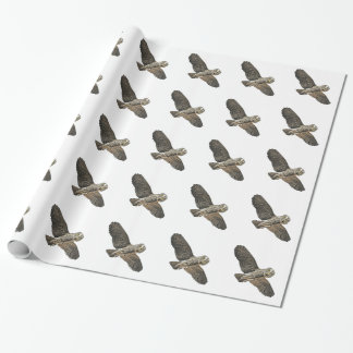 Great Grey Owl Wrapping Paper