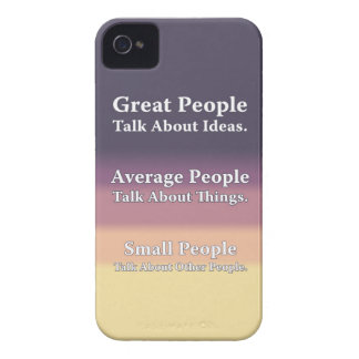 Great People Talk About Ideas. iPhone 4 Case-Mate Cases