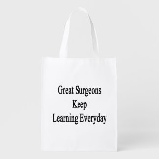 Great Surgeons Keep Learning Everyday