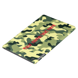 Green Army Navy Air Force Camouflage iPad Air Case