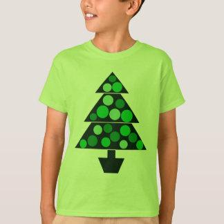 Green Baubles Christmas Tree - Kids T-shirt