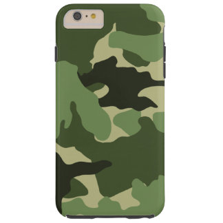 Green Camo Military Tough iPhone 6 6S Plus Cases