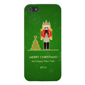 Green Christmas - Nutcracker Holiday Greeting iPhone 5/5S Case