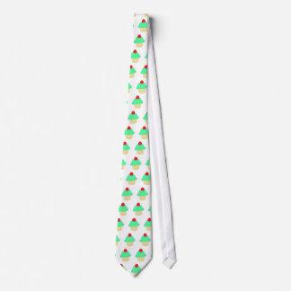 Green Cupcake Tie