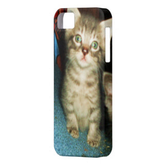 GREEN EYED KITTY iphone case