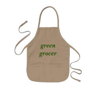 Green Grocer Kids Apron