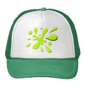 Green Paint Splodge Cap