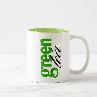Green Tea Two-Tone Mug