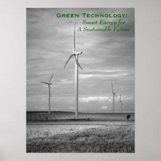 Green Technology: Smart Energy Poster