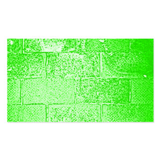 Green Wall. Digital Art. Pack Of Standard Business Cards