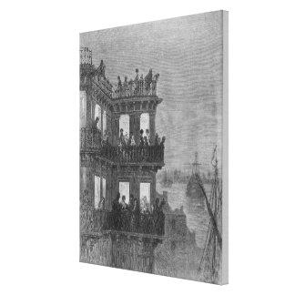 Greenwich in the Season Canvas Print