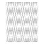 Grey Chevron/Zig Zag Scrapbook Paper 21.5 Cm X 28 Cm Flyer