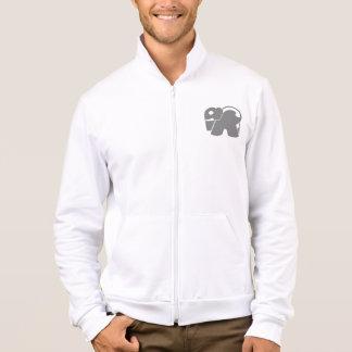 Grey Logo Elephant Jacket