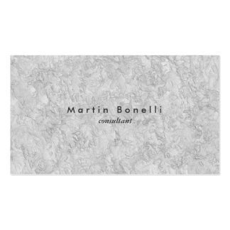 Grey Wall Modern Minimalist Plain Simple Pack Of Standard Business Cards