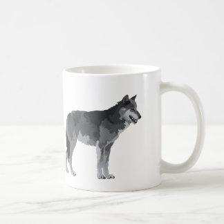 Grey Wolf Coffee Mug