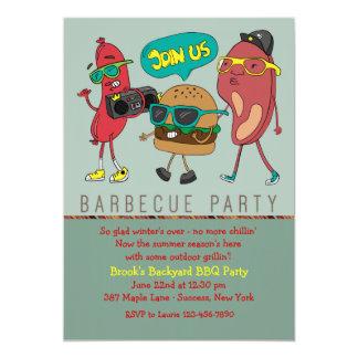 Grill Mates Barbecue Invitation