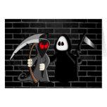 Grim Reaper Death Card