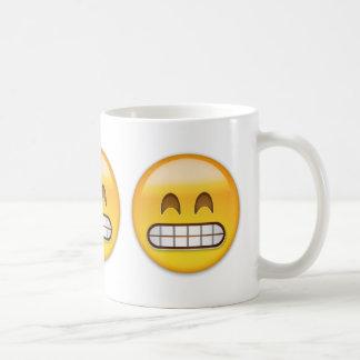 Grinning Face With Smiling Eyes Emoji Basic White Mug