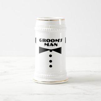 Groom's Man Stein Beer Steins
