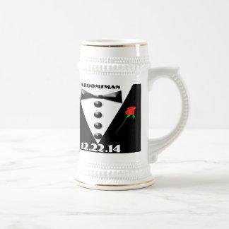 Groomsman Stein - Beer Steins