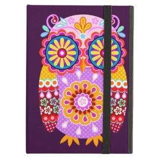 Groovy Abstract Owl iPad Case
