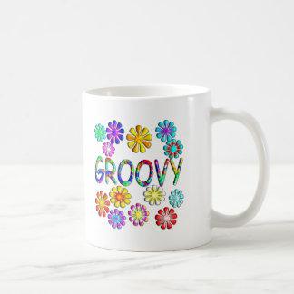 Groovy Basic White Mug